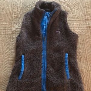 Patagonia Los Gatos Womens Fleece Reversible Vest
